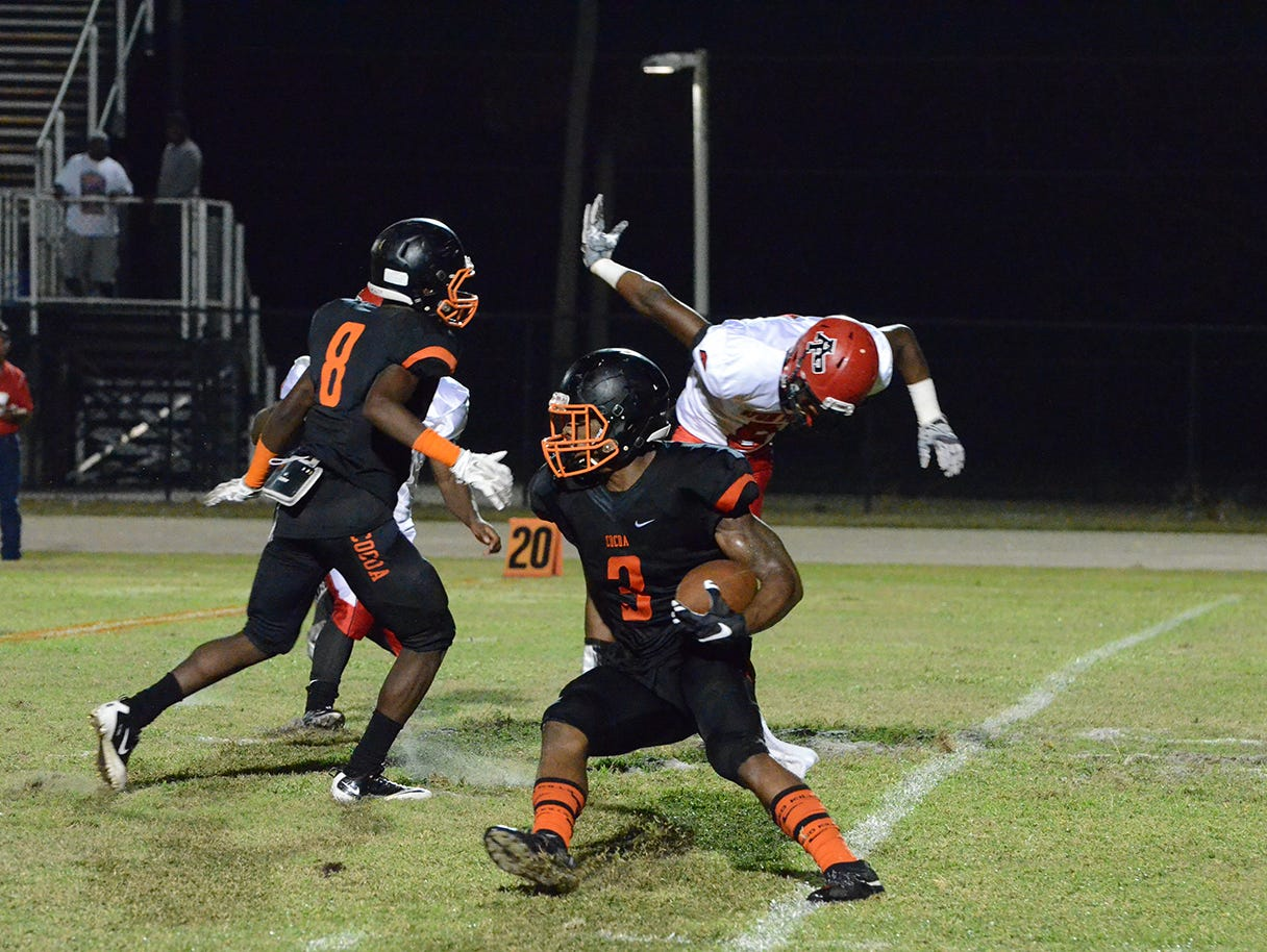 Cocoa's Chauncey Gardner is the FLORIDA TODAY Defensive Football Player of the Year.