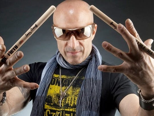 Kenny Aronoff has played drums on tour with has toured with John Mellencamp, John Fogerty, Melissa Etheridge and the Smashing Pumpkins.