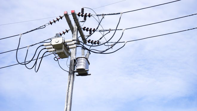Jersey Central Light and Power is reporting more than are 1,500 customers without power Friday morning.