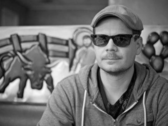 Artist Cristopher Cichocki will present a major installation starting Friday in downtown Cathedral City.