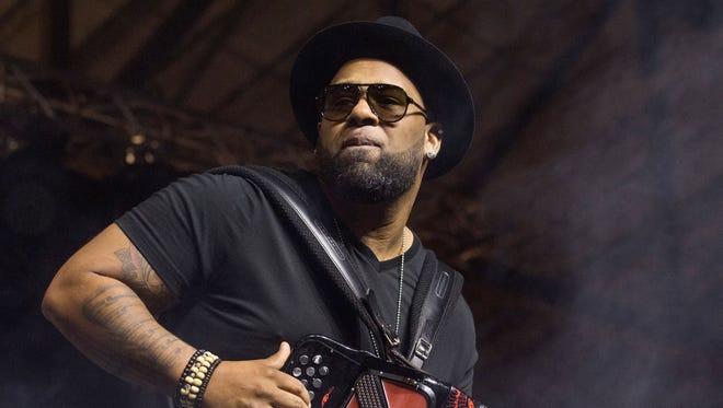 Chris Ardoin headlines the Hurricane Relief Concert Sunday in Lafayette.