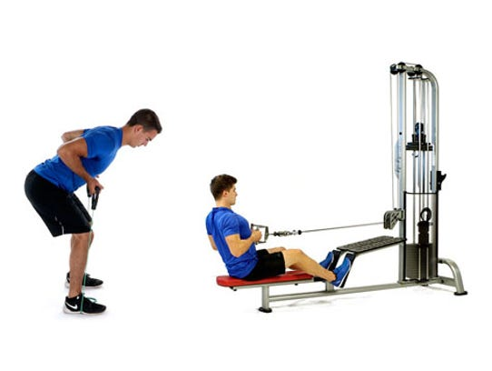 EXERCISE: Bent over or seated rows