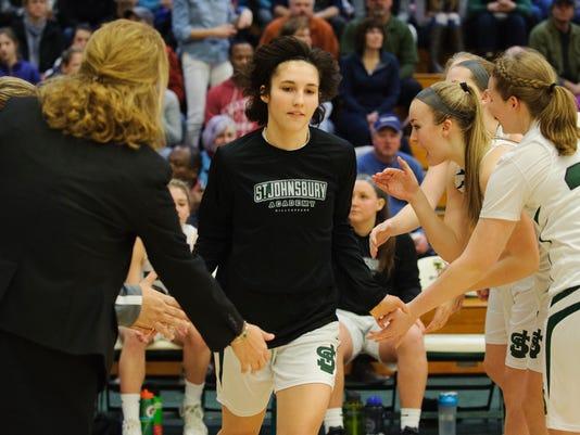 Girls High School Basketball Championship St. Johnsbury vs. CVU 03/11/18