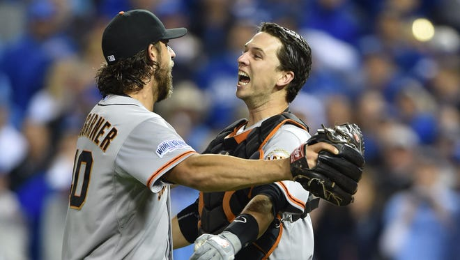 Madison Bumgarner has the lowest ERA in World Series history.