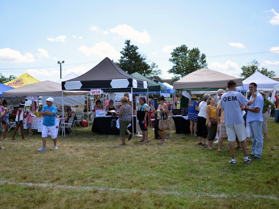 Local vendors are the backdrop for conversation Sunday