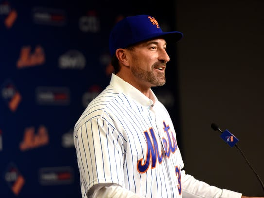 Mickey Callaway is named the new manager of the New