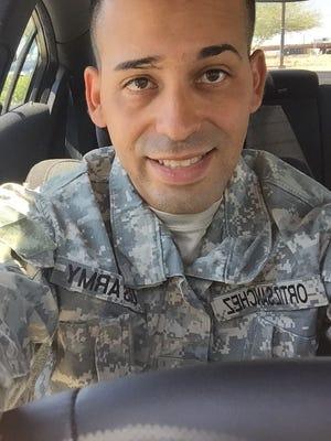 Luis Ortiz-Sanchez is a member of the U.S. Army Reserve.