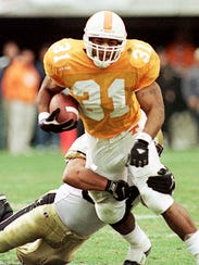31 – Jamal Lewis, Tennessee (1997-99): Lewis is fifth