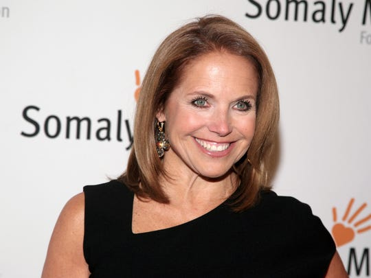 TV host Katie Couric.