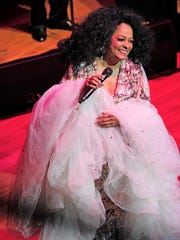Diana Ross performs Oct. 28, 2013, in Nashville.