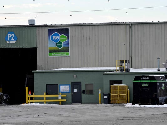Newborn baby's body found in recycling center