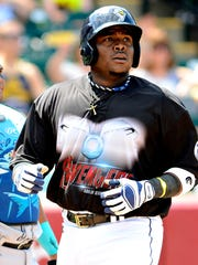 Telvin Nash, seen here in a file photo, is expected to add a lot of pop in his return to the York Revolution lineup this season.