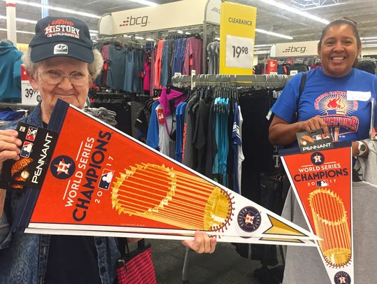 Margaret Harris, 77, an Astros fan for more than 40