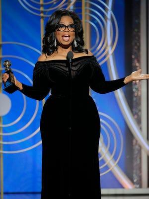 Oprah Winfrey rocked the Golden Globes on Sunday during her lifetime achievement award acceptance speech.