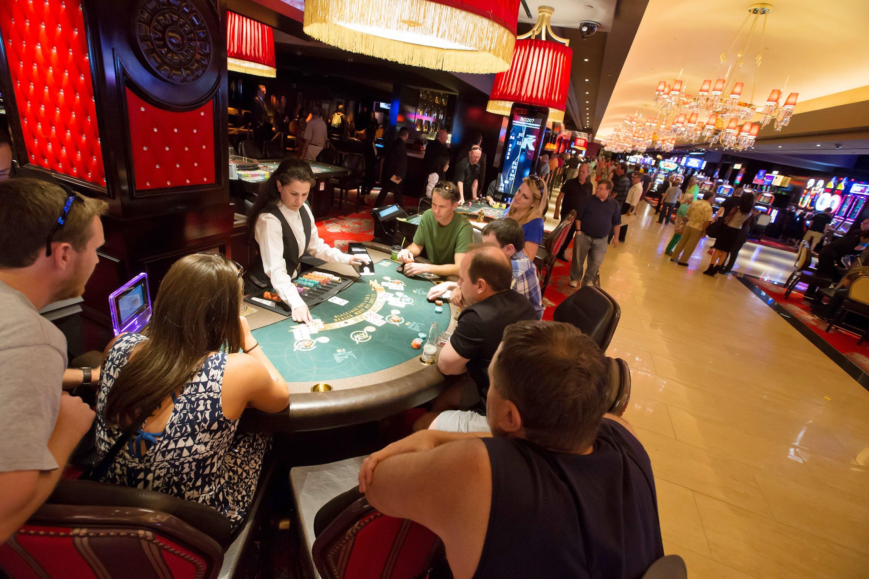 Station casinos profits decline texas law on gambling
