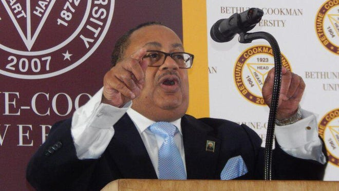 "Bethune-Cookman University board Chairman Belvin Perry says state funding supporting Florida's three private historically black colleges and universities will help ensure that ""people of color have access to a first-class education."" A $33 million appropriation for the three schools survived Gov. Ron DeSantis' veto pen on Monday."