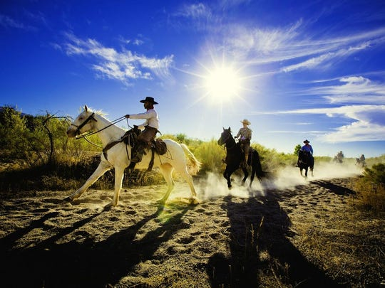 Start the day at Tanque Verde with a sunrise horseback ride and follow it with a chuckwagon breakfast in the open desert.