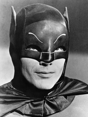 The late Adam West was TV's original Caped Crusader.