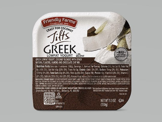 Snack Cup: ALDI Friendly Farms Greek Yogurt Tilts -
