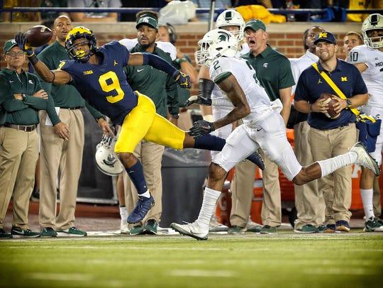 Michigan receiver Donovan Peoples-Jones.