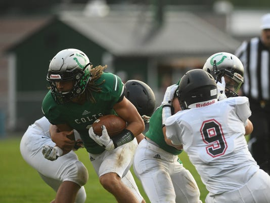 FOOTBALL: Jonathan Alder at Clear Fork