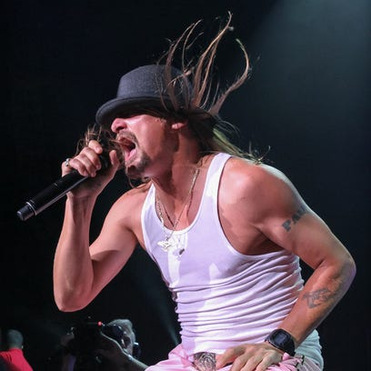 Kid Rock performs during the last of his ten sold-out