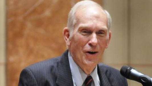 A 2009 photo of former Indiana Congressman Andrew Jacobs, Jr.