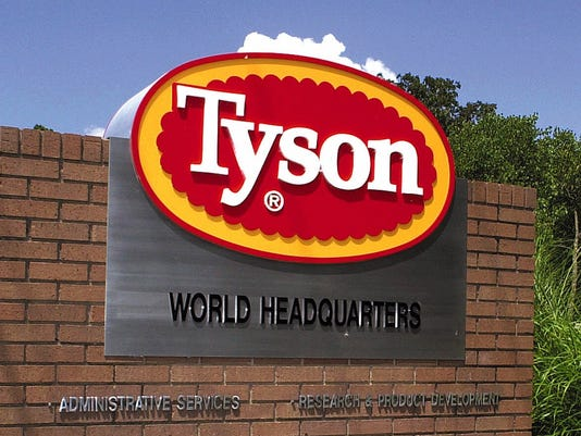 AP EARNS TYSON FOODS