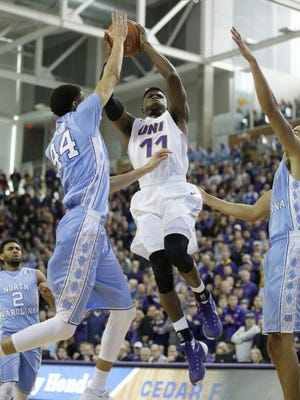 Northern Iowa's Wes Washpun is averaging 16.3 points per game and has 39 assists for the 5-1 Panthers this season.