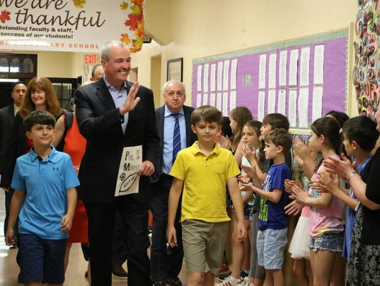 Westfield's Wilson School receives a surprise visitor