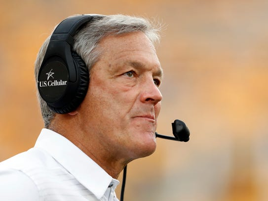 Iowa head coach Kirk Ferentz knows quite a bit about