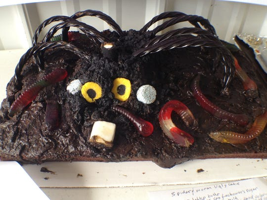 Residents competed in the 2013 Ugly Cake competition