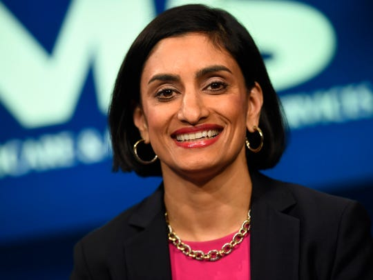 Seema Verma, administrator of the Centers for Medicare