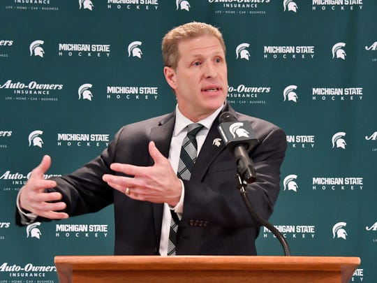 Danton Cole was named Michigan State's new coach in April.