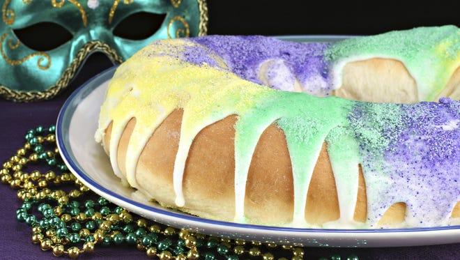 Several bakeries around Shreveport-Bossier City sell king cakes.
