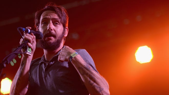 DOVER, DE - JUNE 20:  Ben Bridwell of Band of Horses performs onstage during day 2 of the Firefly Music Festival on June 20, 2014 in Dover, Delaware.  (Photo by Michael Loccisano/Getty Images for Firefly Music Festival)