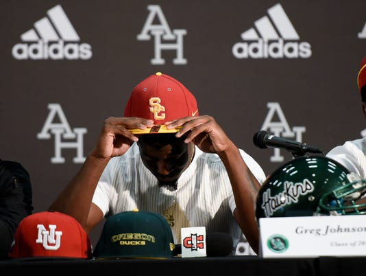 High School Football: National Signing Day-Greg Johnson