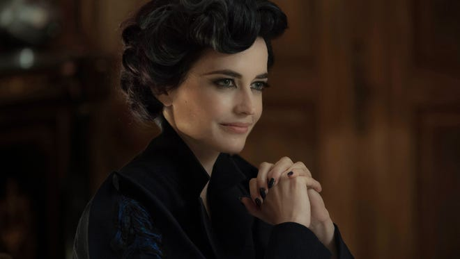 Eva Green stars as the enigmatic Miss Peregrine in 'Miss Peregrine's Home for Peculiar Children.'