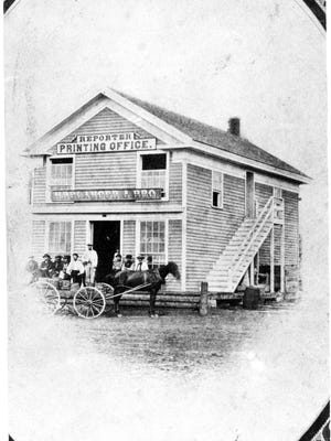 The Balanger Store also was home to the Wood County Reporter office, which was on the second floor.