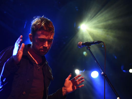 Blur perform during Converse Rubber Tracks Live Presents