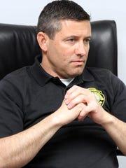 Seaside Park Police Chief Francis Larkin