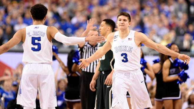 The Duke Blue Devils and guard Grayson Allen will take on Indiana in the Big Ten-ACC challenge.