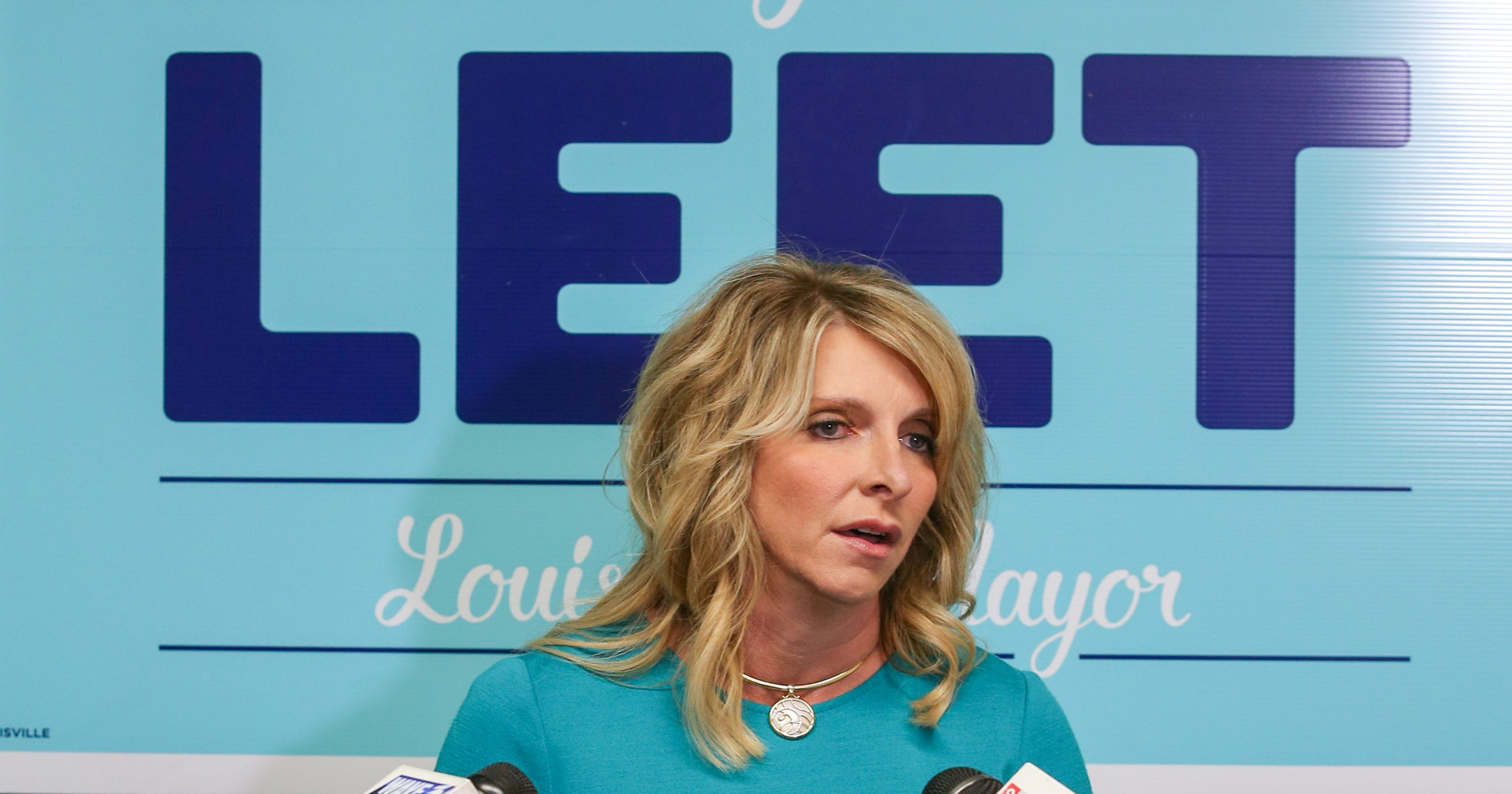 Angela Leet is the police union\'s pick for Louisville mayor