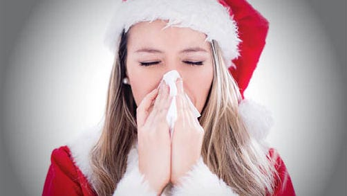 If someone in your family has asthma, be careful when you unpack the holiday decorations that have been stored away since last winter.