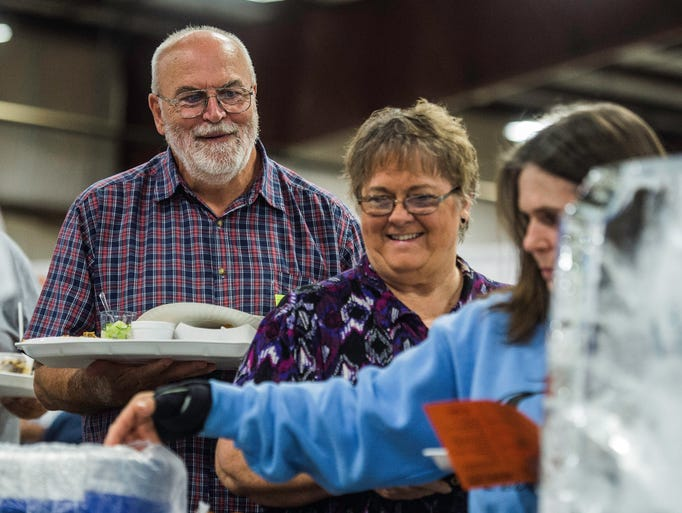 Hundreds attended the Taste of Wayne County and Business