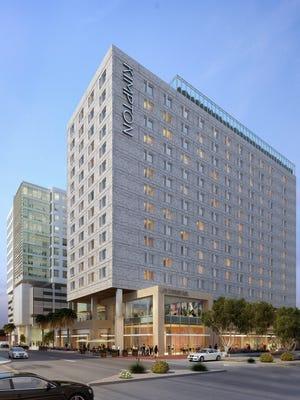 Construction will start soon on the new Tempe Kimpton Hotel.