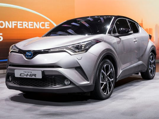 Toyota Shows Stylish New C Hr Crossover
