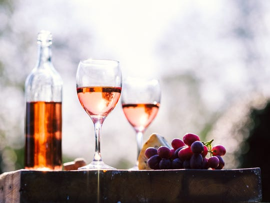 Rosé goes well with seafood, roasted chicken and barbecue