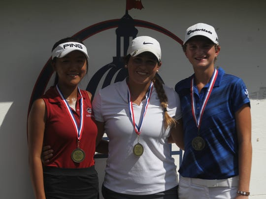 Aucilla Christian junior Megan Schofill won a second consecutive Big Bend Championship on Tuesday at Capital City Country Club, while Chiles sophomore Alexia Pyun placed second and St. John Paul II senior Morgan Comer was third.