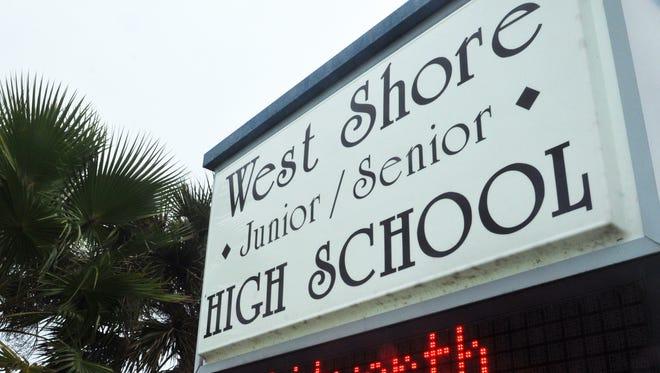 West Shore Junior Senior High School in Melbourne.